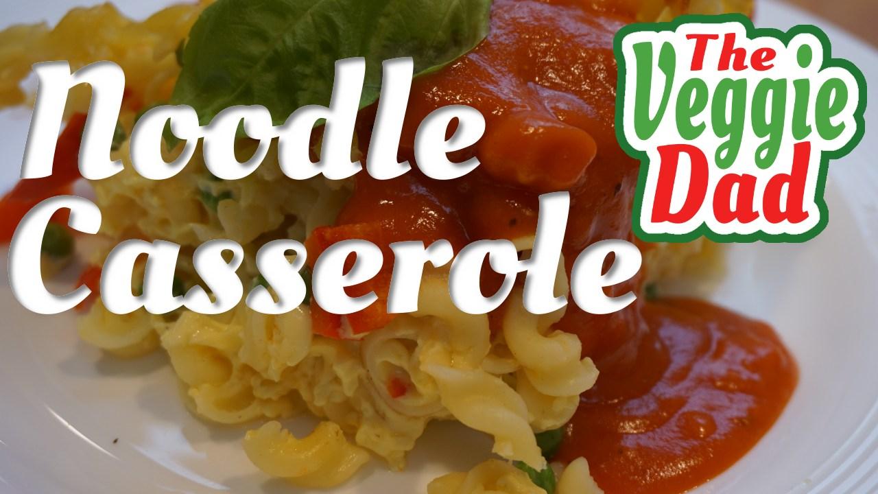 Noodle casserole/Nudelauflauf