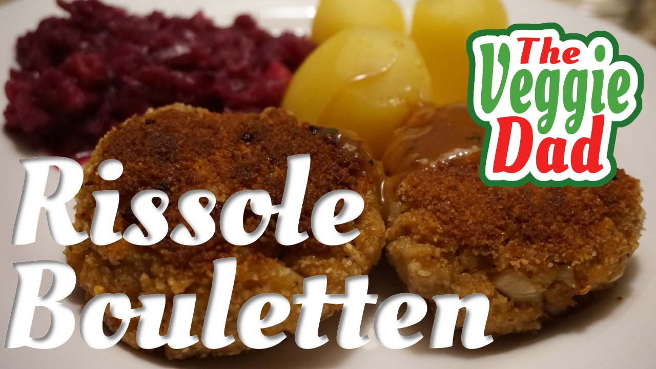 Vegetarian rissole/Vegetarische Bouletten