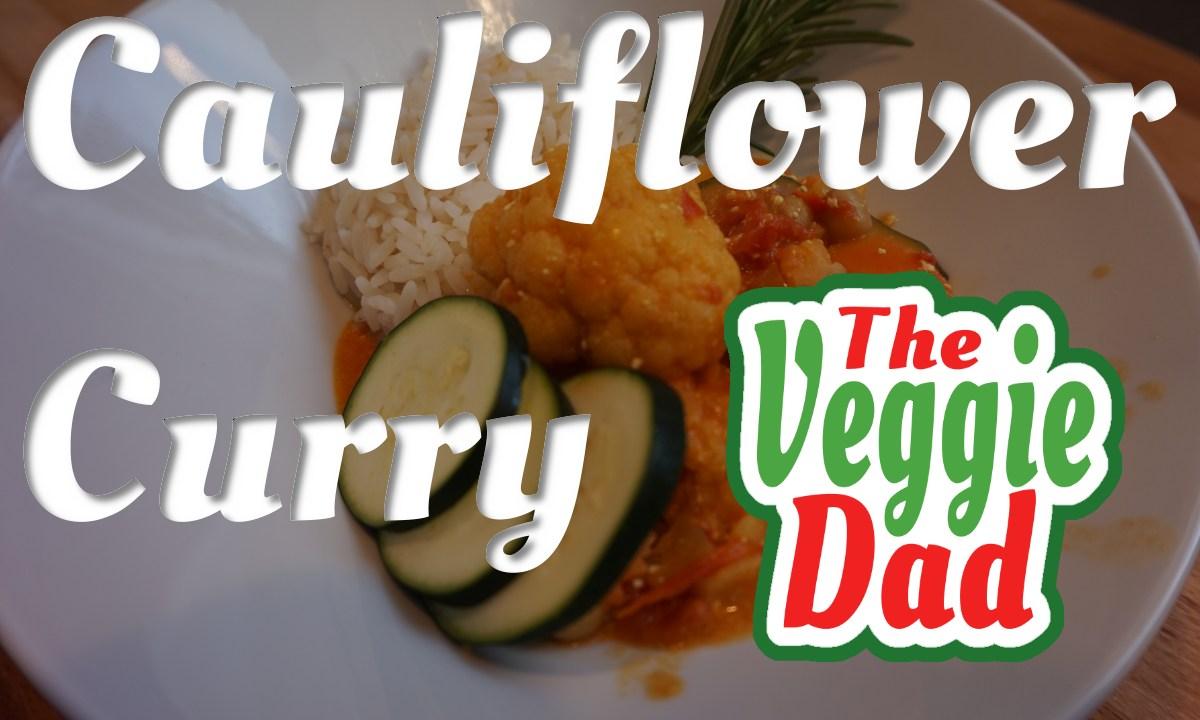 Cauliflower Curry/Blumenkohl Curry
